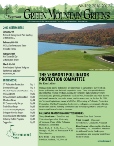 2016-2017 Green Mountain Greens Newsletter